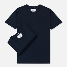 Комплект мужских футболок Reigning Champ Knit Jersey Set 2 Pack Navy фото- 0