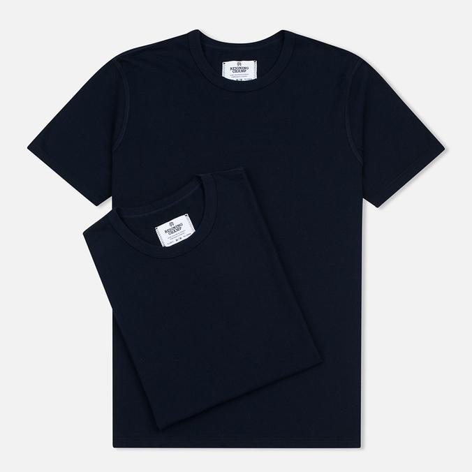 Комплект мужских футболок Reigning Champ Knit Jersey Set 2 Pack Navy