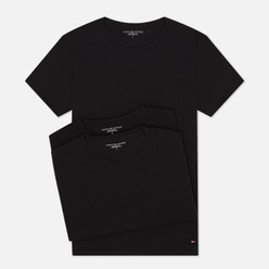 Комплект мужских футболок Tommy Hilfiger Underwear 3-Pack Premium Essentials Crew Neck Black