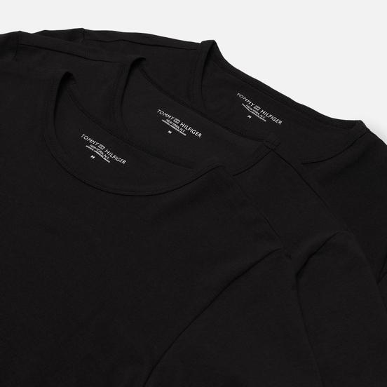 Комплект мужских футболок Tommy Hilfiger Underwear 3-Pack Premium Essentials Crew Neck Black
