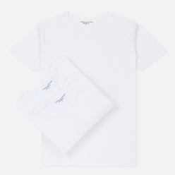 Комплект мужских футболок Tommy Hilfiger Underwear 3-Pack Premium Essentials Crew Neck White