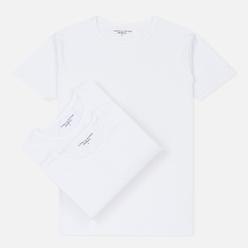 Комплект мужских футболок Tommy Hilfiger Underwear 3-Pack Premium Essentials Crew Neck White