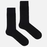 Комплект мужских носков Burlington Classic Everyday 2-Pack Black фото- 0
