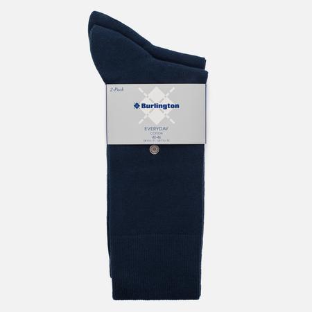 Комплект мужских носков Burlington Classic Everyday 2-Pack Marine