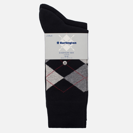Комплект носков Burlington Everyday 2-Pack Black