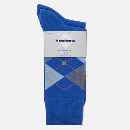 Комплект мужских носков Burlington Everyday 2-Pack Deep Blue