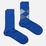 Комплект мужских носков Burlington Everyday 2-Pack Deep Blue фото- 1