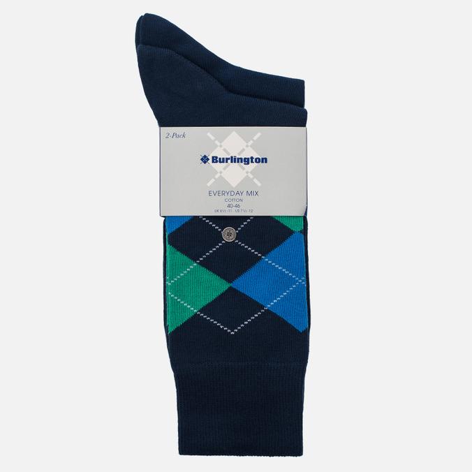 Комплект мужских носков Burlington Everyday 2-Pack Marine
