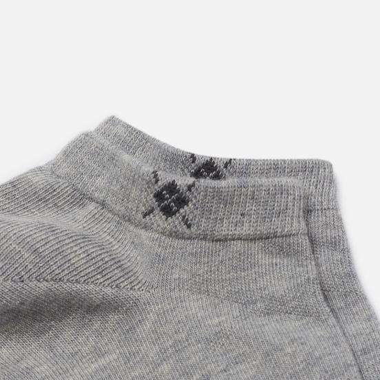 Комплект носков Burlington Everyday 2-Pack Sneaker Light Grey