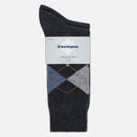 Комплект мужских носков Burlington Everyday 2-Pack Anthra Mel фото- 0