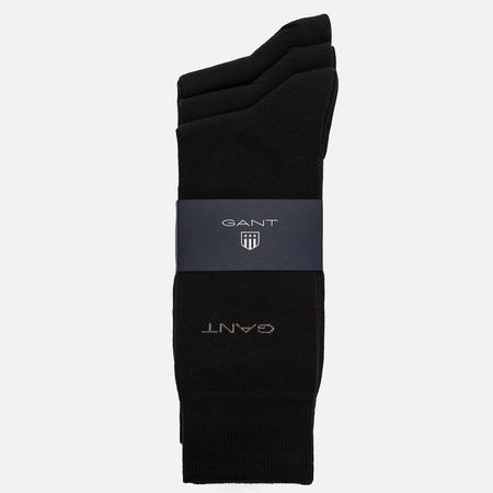 Комплект мужских носков Gant 3-Pack Soft Cotton Black