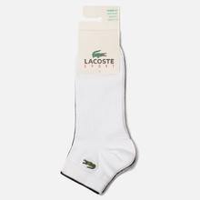 Комплект мужских носков Lacoste 3-Pack Sport Low-Cut White/Black/Grey Chine фото- 1