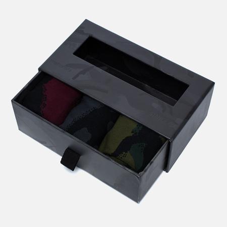 maharishi x Stance 3 Pack British Bonsai Forest Men's Socks Box Multicolor