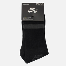 Комплект носков Nike SB 3-Pack Crew High Black/Anthracite фото- 1