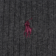 Комплект носков Polo Ralph Lauren 3-Pack Classic Crew Charcoal фото- 2