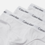Комплект мужских трусов Calvin Klein Underwear 3-Pack Hip Brief White/White фото- 2