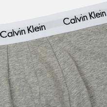 Комплект мужских трусов Calvin Klein Underwear 3-Pack Low Rise Trunk Black/Grey/White фото- 2