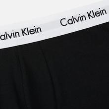 Комплект мужских трусов Calvin Klein Underwear 3-Pack Low Rise Trunk Black/White фото- 2