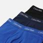 Комплект мужских трусов Calvin Klein Underwear 3-Pack Low Rise Trunk Blue/Navy/Black фото - 1
