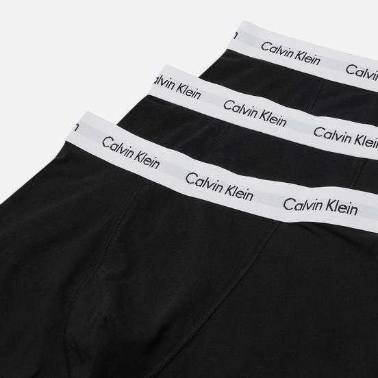 Комплект мужских трусов Calvin Klein Underwear 3-Pack Trunk Brief Black/White