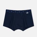 Комплект мужских трусов Happy Socks Solid 3 Pack Black/Blue/White фото- 1