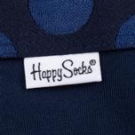 Комплект мужских трусов Happy Socks Solid 3 Pack Black/Blue/White фото- 2