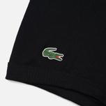 Комплект мужских трусов Lacoste Underwear 3-Pack Boxers Courts Black/Black/Black фото- 3