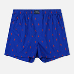 Комплект мужских трусов Polo Ralph Lauren Boxer 3-Pack Milton/Navy/Royal All Over Print Red фото- 2
