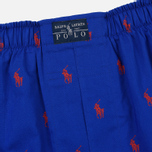Комплект мужских трусов Polo Ralph Lauren Boxer 3-Pack Milton/Navy/Royal All Over Print Red фото- 4