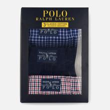 Комплект мужских трусов Polo Ralph Lauren Boxer 3-Pack Navy/William Plaid/Denis Plaid фото- 4