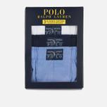 Комплект мужских трусов Polo Ralph Lauren Boxer 3-Pack White/Blue/Navy фото- 5