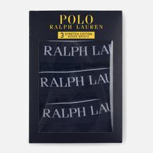 Комплект мужских трусов Polo Ralph Lauren Boxer Brief 3-Pack Cruise Navy фото- 2