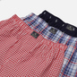 Комплект мужских трусов Polo Ralph Lauren Classic Boxer 3-Pack Cruise Navy Nevis All Over Pony Print/Myers Plaid/Freeport Plaid фото - 1