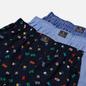 Комплект мужских трусов Polo Ralph Lauren Classic Boxer 3-Pack Signal Flag Print/Durham Plaid/Blue фото - 1