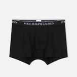 e59c87c982b19 Комплект мужских трусов Polo Ralph Lauren Classic Trunk 3-Pack Black фото- 1