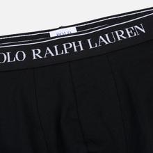 Комплект мужских трусов Polo Ralph Lauren Classic Trunk 3-Pack Black фото- 2