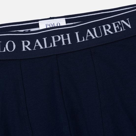Комплект мужских трусов Polo Ralph Lauren Classic Trunk 3-Pack Cruise Navy