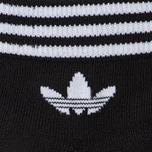 Комплект носков adidas Originals 3-Pack Trefoil Ankle Black/White фото- 2