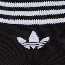 Комплект носков adidas Originals 3-Pack Trefoil Ankle Black/White фото- 2