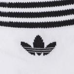 Комплект носков adidas Originals 2-Pack Trefoil Ankle White/Black фото- 2