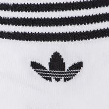 Комплект носков adidas Originals 3-Pack Trefoil Ankle White/Black фото- 2