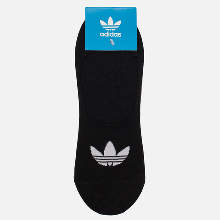 Комплект носков adidas Originals No Show 3P Black/White