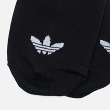 Комплект носков adidas Originals Trefoil 3-Pack Black фото- 3