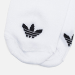 Комплект носков adidas Originals Trefoil 3-Pack White фото- 3