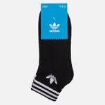 Комплект носков adidas Originals Trefoil Ankle 3 Pairs Black фото- 1