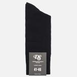 Мужские носки Democratique Socks Originals Solid Black фото- 0