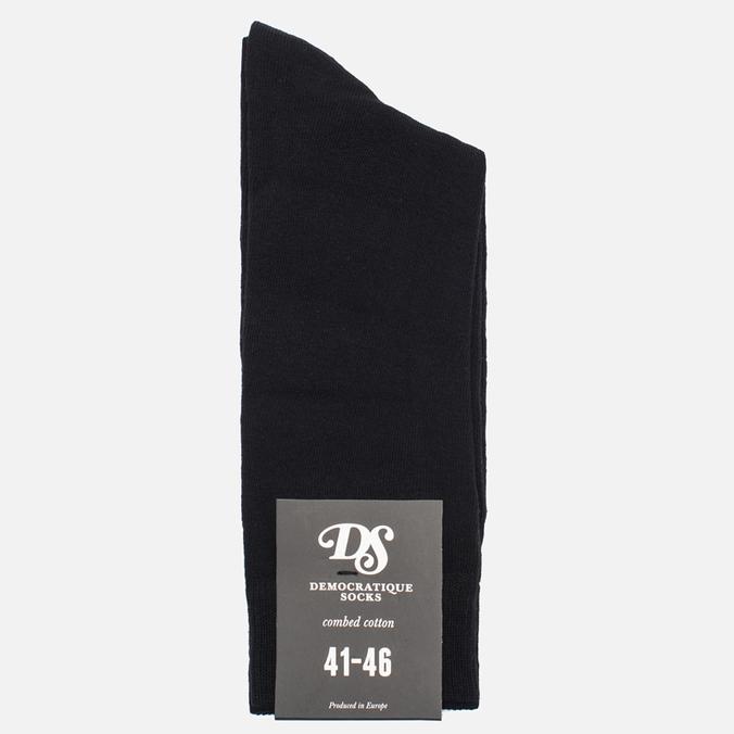 Мужские носки Democratique Socks Originals Solid Black