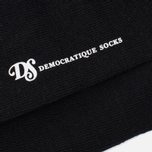 Мужские носки Democratique Socks Originals Solid Black фото- 2