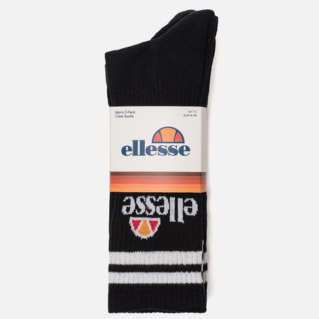 Комплект носков Ellesse Pullo 3-Pack Black