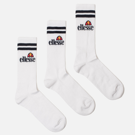 Комплект носков Ellesse Pullo 3-Pack White
